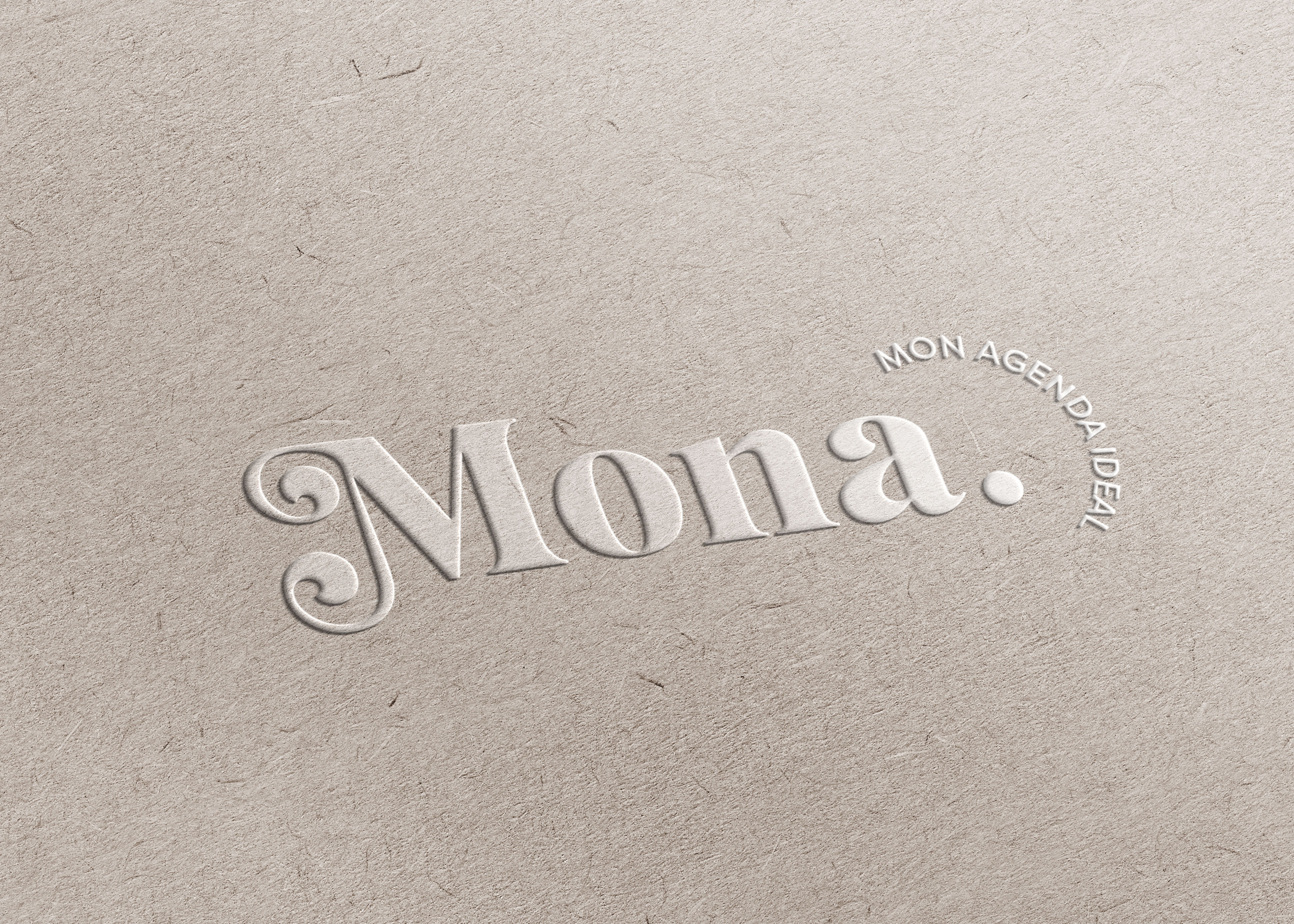 Embossed-MONA